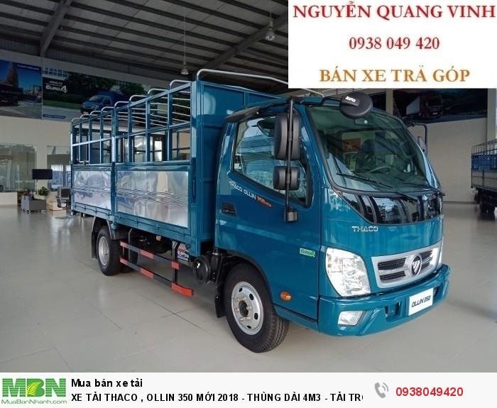 Xe Tải Thaco Ollin 350.E4 - Mới nhất hiện tại - Thùng Dài 4m4 - Tải Trọng 2,15 & 3,49 tấn - Hổ Trợ Trả Góp 2