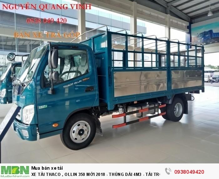 Xe Tải Thaco Ollin 350.E4 - Mới nhất hiện tại - Thùng Dài 4m4 - Tải Trọng 2,15 & 3,49 tấn - Hổ Trợ Trả Góp 3