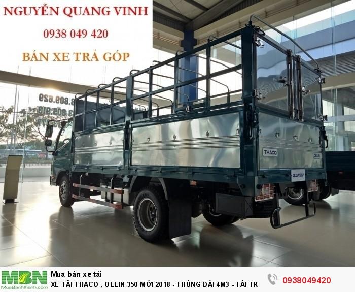 Xe Tải Thaco Ollin 350.E4 - Mới nhất hiện tại - Thùng Dài 4m4 - Tải Trọng 2,15 & 3,49 tấn - Hổ Trợ Trả Góp 4