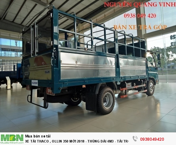 Xe Tải Thaco Ollin 350.E4 - Mới nhất hiện tại - Thùng Dài 4m4 - Tải Trọng 2,15 & 3,49 tấn - Hổ Trợ Trả Góp 5