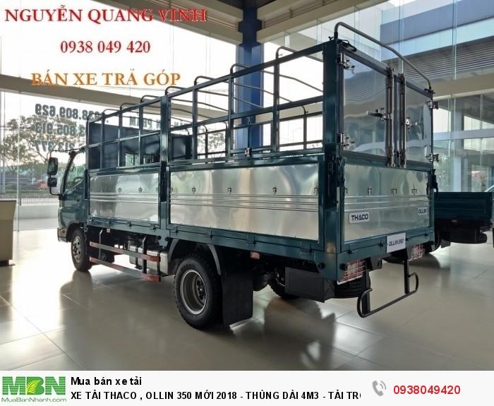 Xe Tải Thaco Ollin 350.E4 - Mới nhất hiện tại - Thùng Dài 4m4 - Tải Trọng 2,15 & 3,49 tấn - Hổ Trợ Trả Góp 6