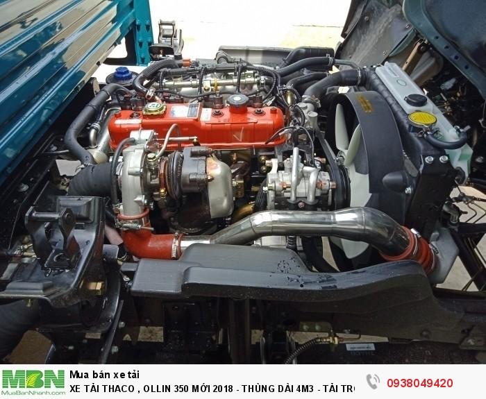 Xe Tải Thaco Ollin 350.E4 - Mới nhất hiện tại - Thùng Dài 4m4 - Tải Trọng 2,15 & 3,49 tấn - Hổ Trợ Trả Góp 9