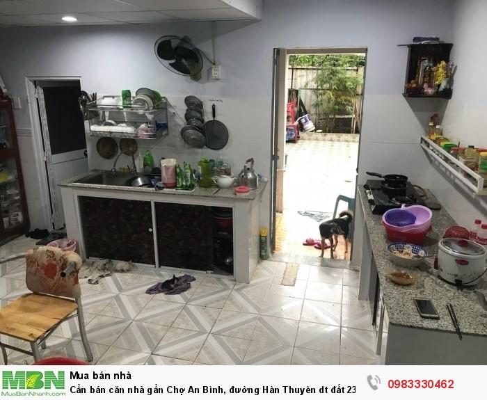 Cần bán căn nhà gần Chợ An Bình, đường Hàn Thuyên dt đất 231m2