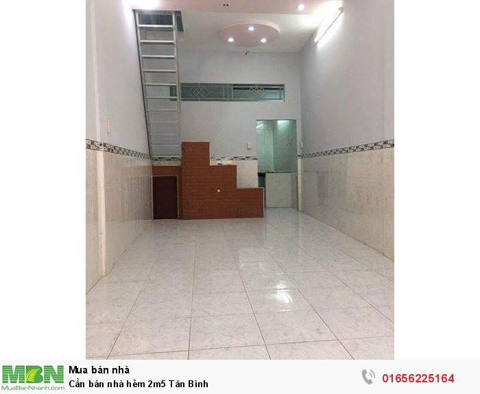 Cần bán nhà hẻm 2m5 Tân Bình