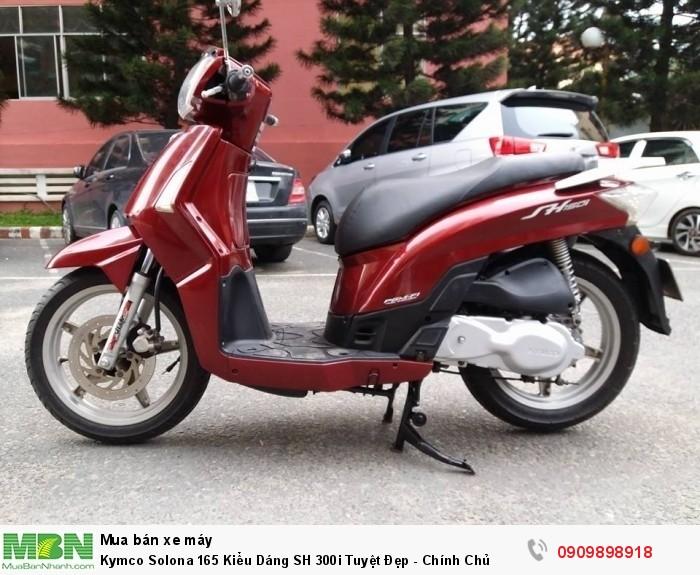 Kymco Solona 165 Kiểu Dáng SH 300i Tuyệt Đẹp - Chính Chủ