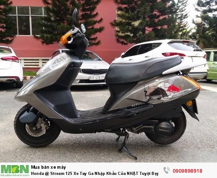 Honda @ Stream 125 Xe Tay Ga Nhập Khẩu Của NHẬT Tuyệt Đẹp