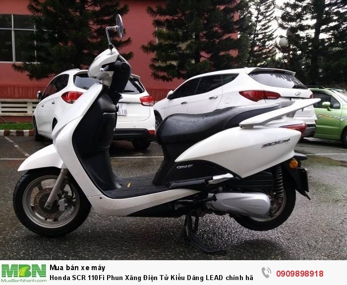 Honda SCR 110Fi Phun Xăng Điện Tử Kiểu Dáng LEAD chính hãng Honda Nhập Khẩu
