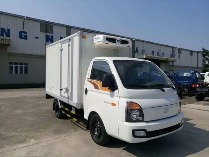 Xe tải Hyundai Porter H150, Đông Lạnh 1.5 tấn, euro 4 , mới 2018