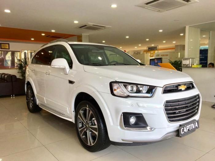 Chevrolet Captiva 2018 nhận xe 7 chỗ với 250tr KHÔNG vay thêm thẻ
