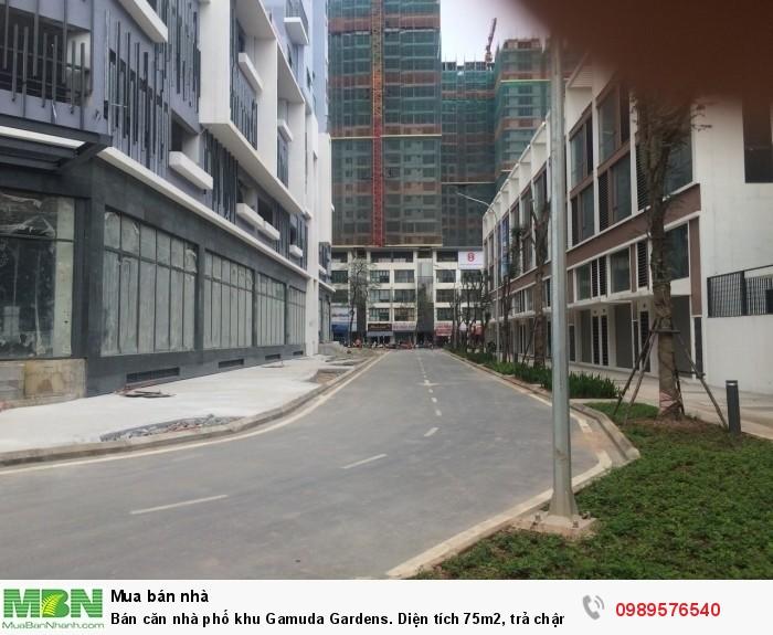 Bán căn nhà phố khu Gamuda Gardens. Diện tích 75m2, trả chậm hơn 2 năm 0% lãi