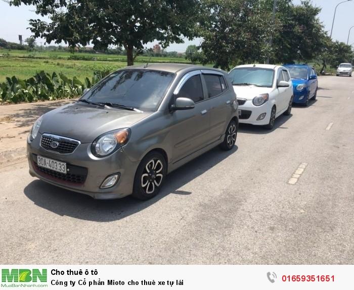 Công ty Cổ phần Mioto cho thuê xe tự lái