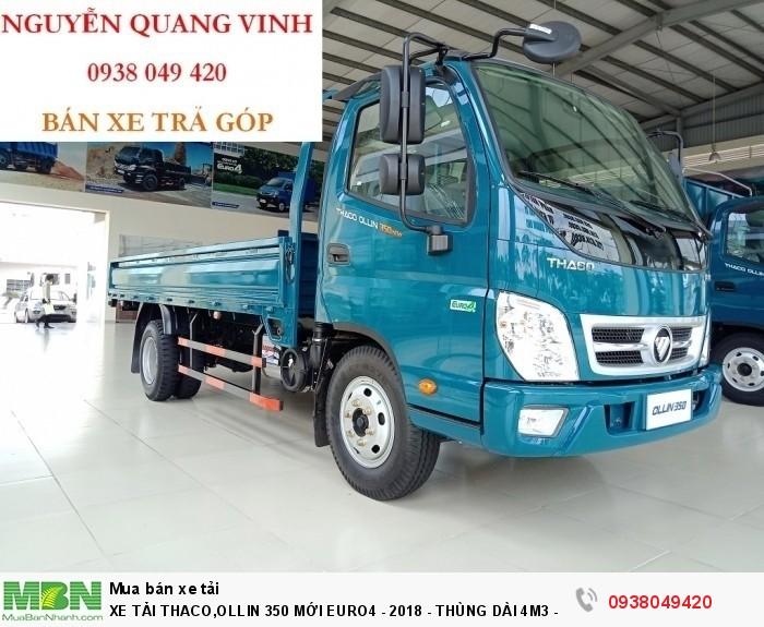 Xe Tải Thaco 2,15 & 3,49 tấn,Ollin490 - Thùng Dài 4m4 - Bán Xe Trả Góp