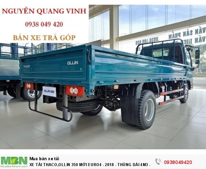 Xe Tải Thaco 2,15 & 3,49 tấn,Ollin 350 Mới Euro4 - 2019 - Thùng Dài 4m4 - Bán Xe Trả Góp