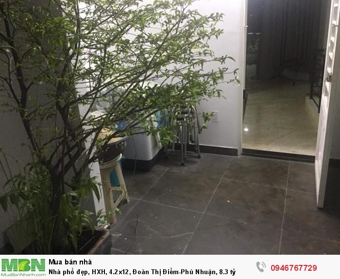 Nhà phố đẹp, HXH, 4.2x12, Đoàn Thị Điểm-Phú Nhuận