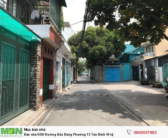 Bán nhà HXH Đường Bàu Bàng Phường 13 Tân Bình