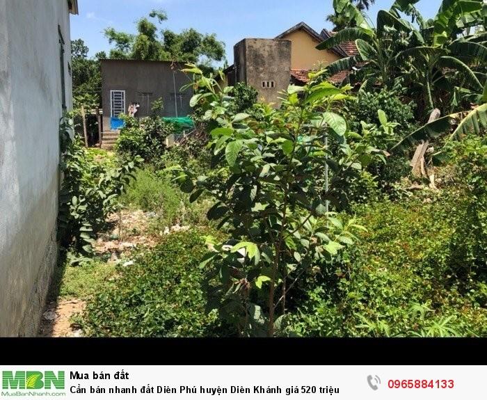 Cần bán nhanh đất Diên Phú huyện Diên Khánh