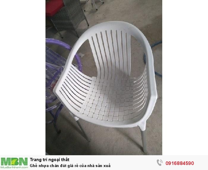 Ghế nhựa chân đút giá rẻ của nhà sản xuấ0