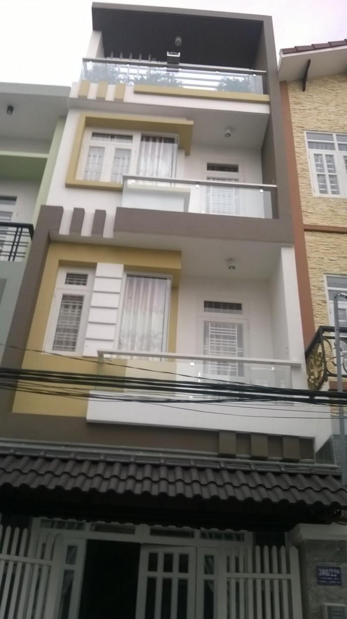 Gấp!!!Bán Nhà 87m2 Nở Hậu Đường Nguyễn Văn Lượng,P10,Gò Vấp. Sổ Hồng.Giá Rẻ.