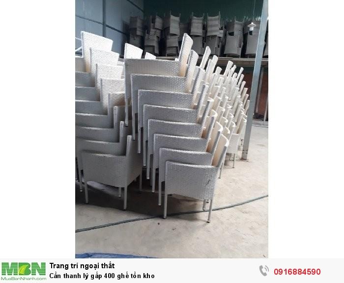 Cần thanh lý gấp 400 ghế tồn kho0