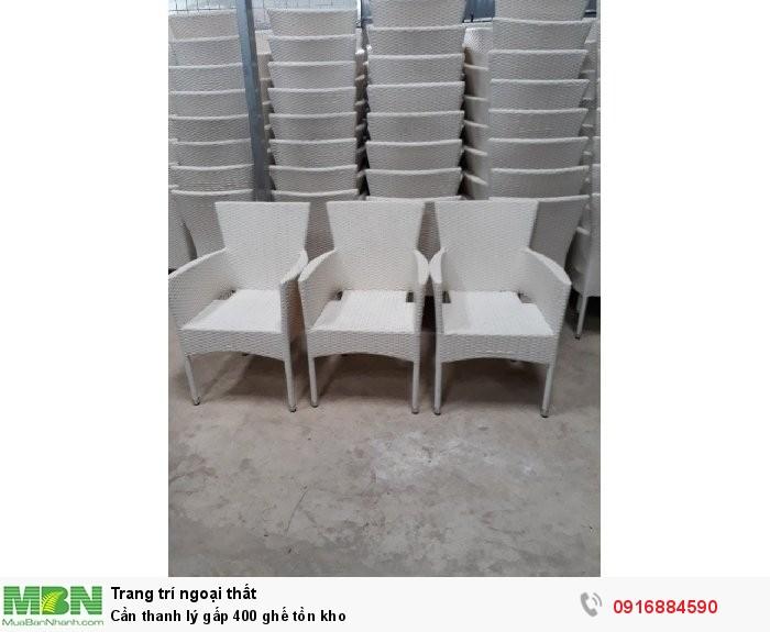 Cần thanh lý gấp 400 ghế tồn kho1