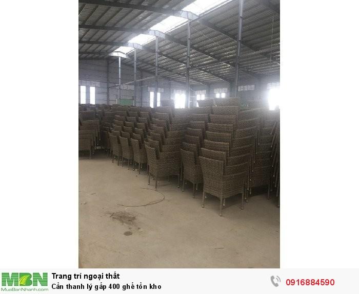 Cần thanh lý gấp 400 ghế tồn kho2
