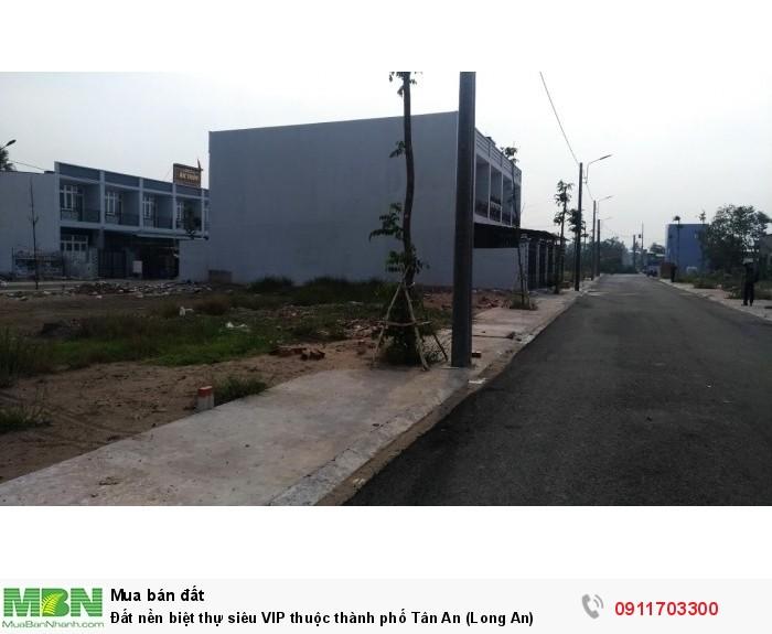 Đất nền biệt thự siêu VIP thuộc thành phố Tân An (Long An)