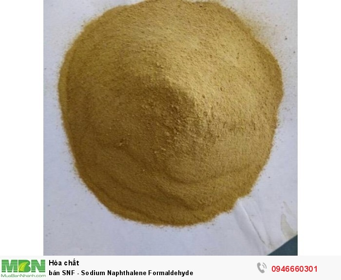 Bán SNF - Sodium Naphthalene Formaldehyde0