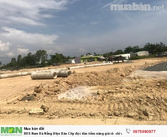 BDS Nam Đà Nẵng-Điện Bàn City-độc đáo-tiềm năng-giá rẻ- chỉ với 6.7tr/m2