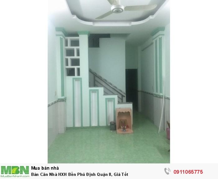 Bán Căn Nhà HXH Bến Phú Định Quận 8, Giá Tốt