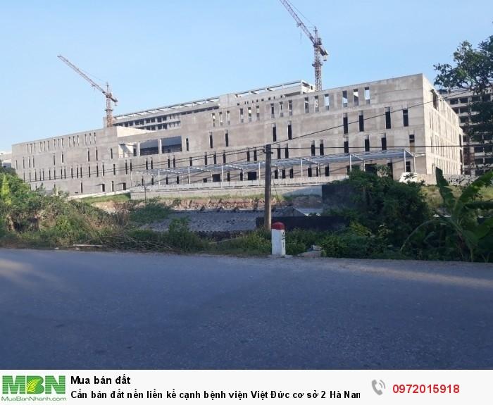 Cần bán đất nền liền kề cạnh bệnh viện Việt Đức cơ sở 2 Hà Nam