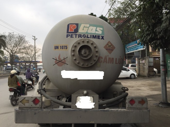 Bán xe bồn (xi téc) chở LPG 3