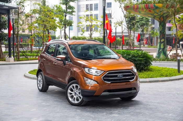 Ford Ecosport Titanium 2018 giá cạnh tranh nhất miền Bắc + Tặng bảo hiểm thân vỏ