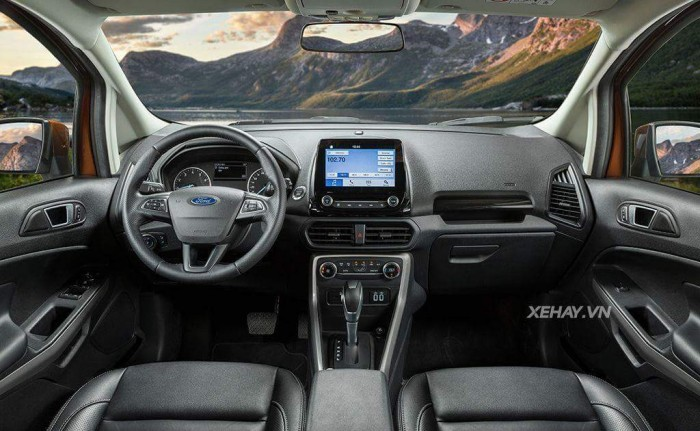 Ford Ecosport Titanium 2018 giá cạnh tranh nhất miền Bắc + Tặng bảo hiểm thân vỏ 5