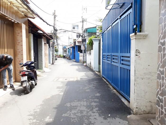 bán nhà HXH đường số 27 P6 GV 5x20m