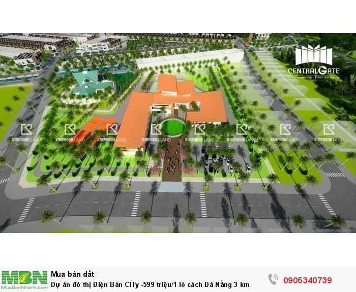 Dự án đô thị Điện Bàn CiTy lô cách Đà Nẵng 3 km