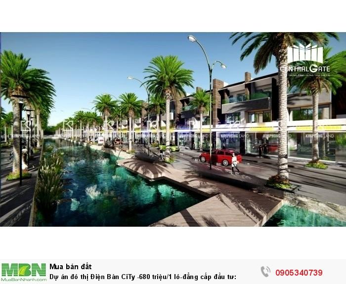 Dự án đô thị Điện Bàn CiTy 1 lô-đẳng cấp đầu tư: