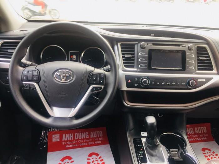 Toyota Highlander 2017 LE màu nâu sậm, xe mới 100%. 14