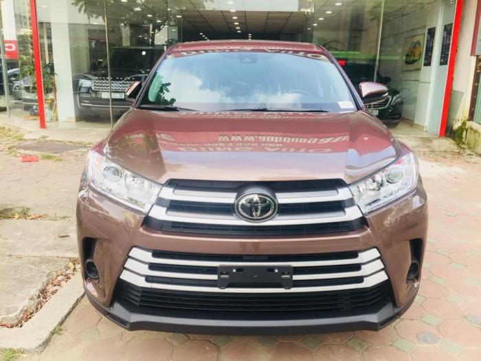 Toyota Highlander 2017 LE màu nâu sậm, xe mới 100%. 2