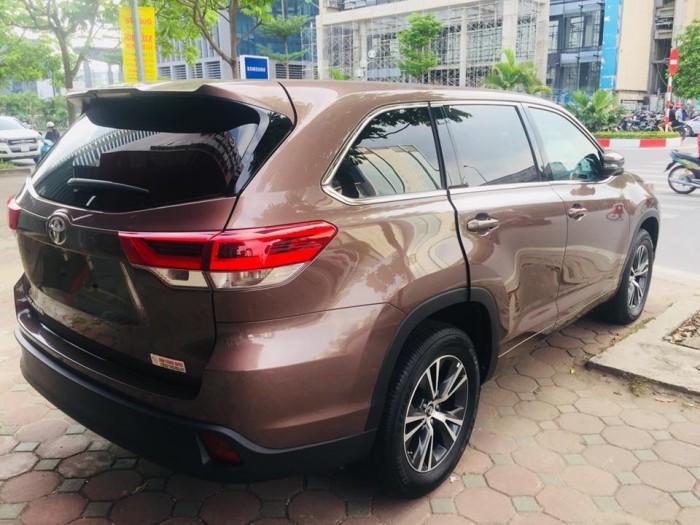 Toyota Highlander 2017 LE màu nâu sậm, xe mới 100%. 3