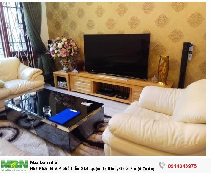 Nhà Phân lô VIP phố Liễu Giai, quận Ba Đình, Gara, 2 mặt đường S65m, giá 13.5 tỷ.