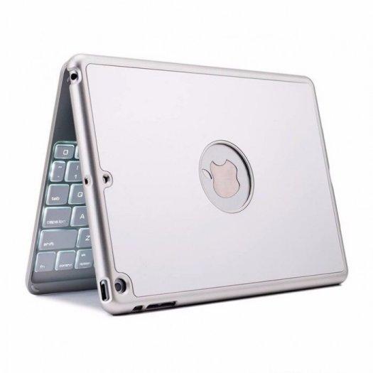 Bàn phím Bluettooth F8S for iPadAir có đèn2