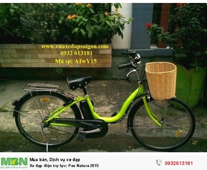 Xe đạp điện trợ lực: Pas Natura 2015