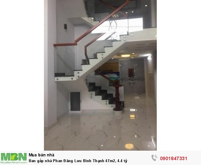 Ban gấp nhà Phan Đăng Lưu Bình Thạnh 47m2