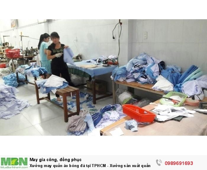 Sản xuất bán sỉ, bán buôn quần áo bóng đá Trang Trần, Xưởng may đồ thể thao giá rẻ tại tphcm, chuyên sản xuất quần áo bóng đá chất lượng