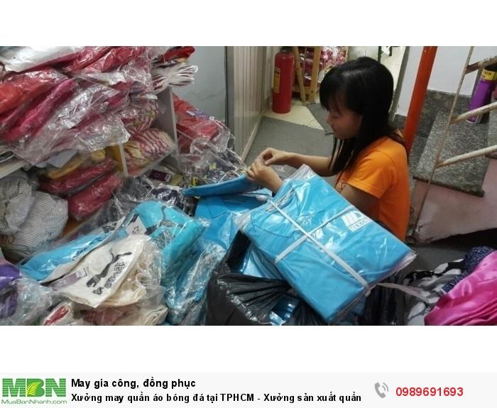 Xưởng đặt quần áo đá banh tự thiết kế theo yêu cầu tại Bình Tân, TPHCM