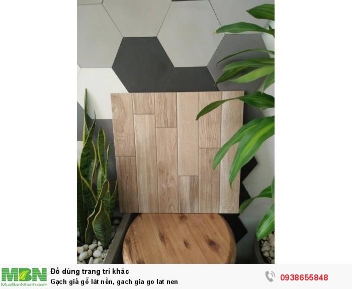 Gạch giả gỗ lát nền0