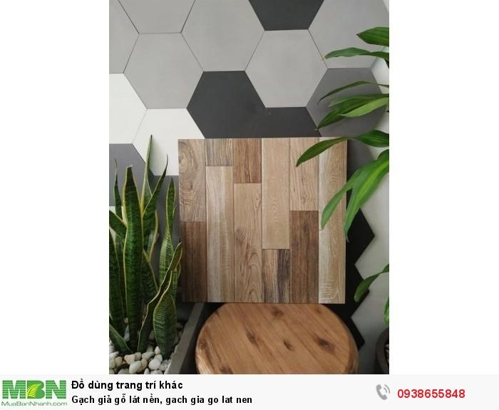 Gạch giả gỗ lát nền2
