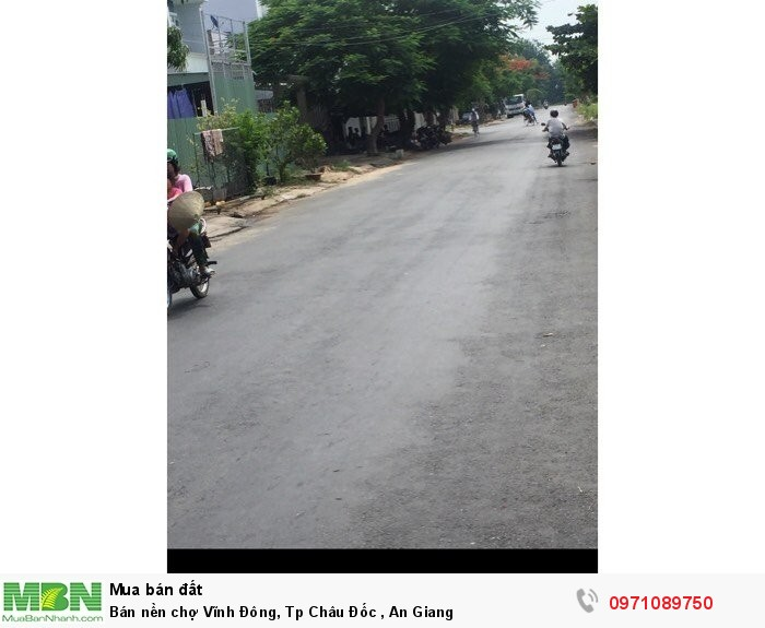 Bán nền chợ Vĩnh Đông, Tp Châu Đốc , An Giang