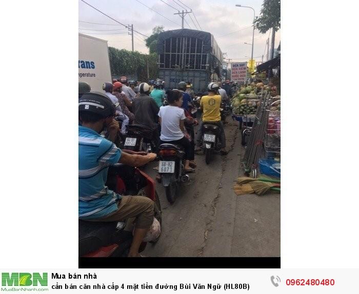 Cần bán căn nhà cấp 4 mặt tiền đường Bùi Văn Ngữ (HL80B)