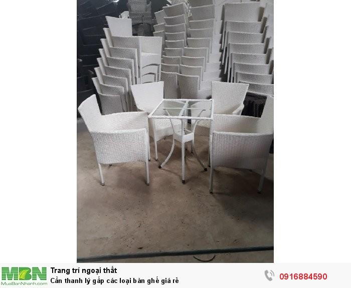 Cần thanh lý gấp các loại bàn ghế giá rẻ0